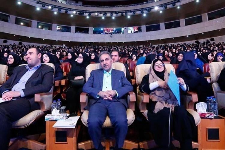 Image result for همایش بزرگ بانوان شاغل شهرداری تهران