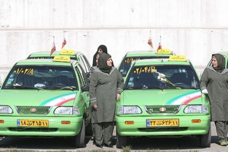 درخواست بازنگری در قانون مربوط به استخدام بانوان تاکسیران