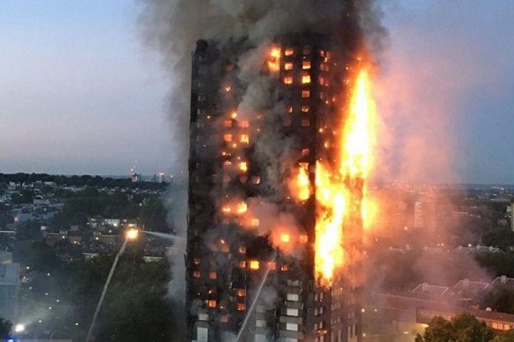 آخرین وضعیت آتش سوزی برج