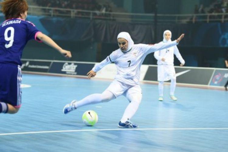 تمجید AFC از فرشته فوتسال بانوان ایران