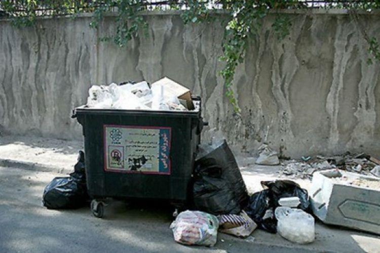 حساب شهرداری مسدود شد، زباله های تهران روی زمین ماند!