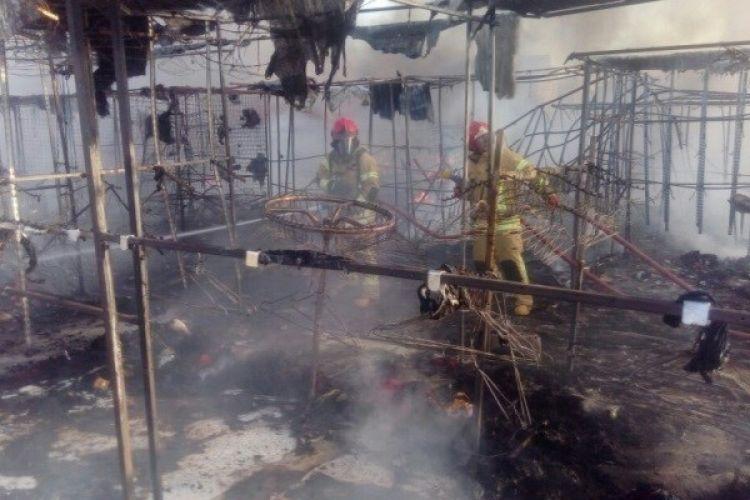 واکنش دادستان کرج به شائبه عمدی بودن آتش سوزی بازارچه گلشهر