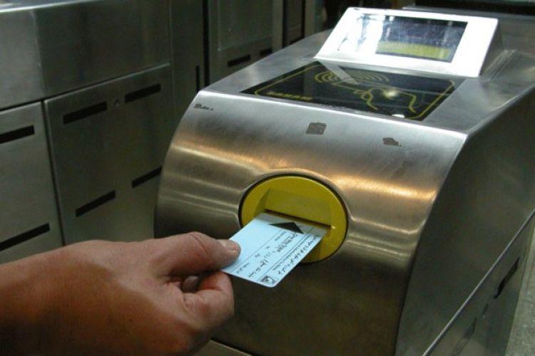 تخفیف 66درصدی برای کارت های بیلت های مبلغ دار مترو