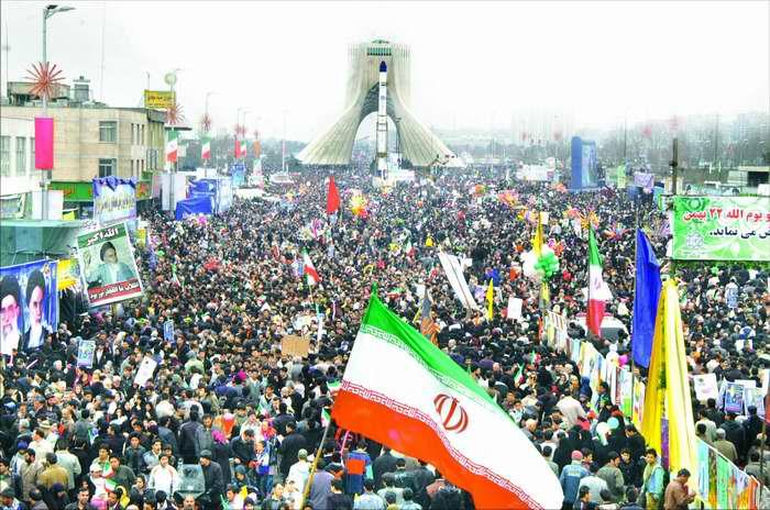 محدودیتها و ممنوعیتهای ترافیکی راهپیمایی 22 بهمن+نقشه