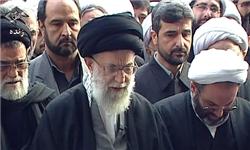 رهبر انقلاب اسلامی وارد دانشگاه تهران شدند
