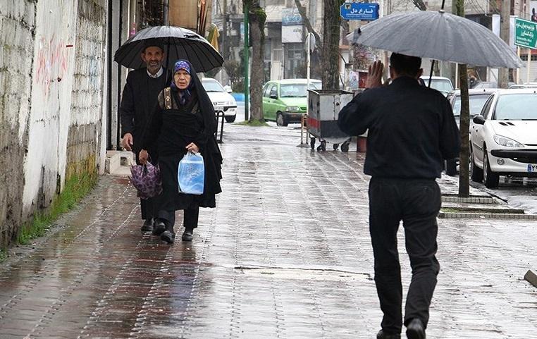 آخرین وضعیت بارشها در سراسر کشور