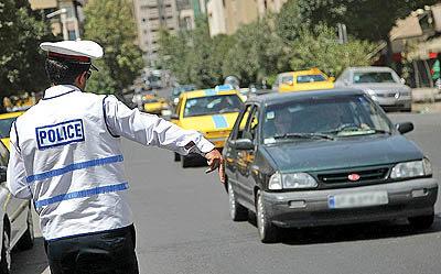 بیشترین تخلفات رانندگان درون شهری