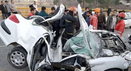 تشریح پنج تصادف مرگبار در ۷۲ ساعت گذشته
