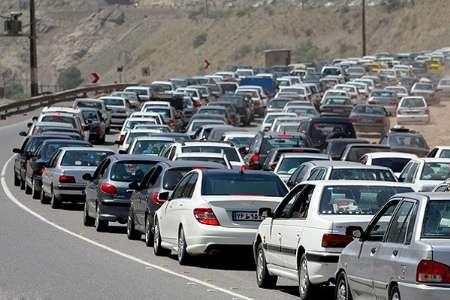 محدودیتهای ترافیکی محور کرج - چالوس