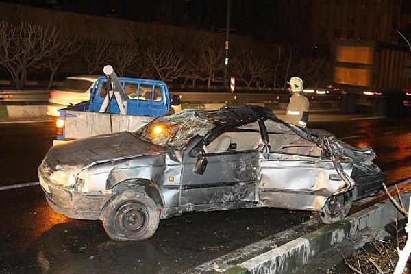 مرگ جوان 20 ساله با حریق خودرو
