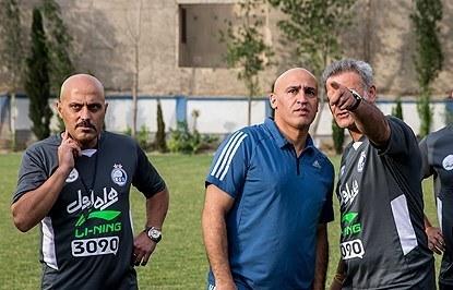 پیغام منصوریان برای عضو هیات مدیره استقلال/سه ماه روزه زبان بگیر لطفا!
