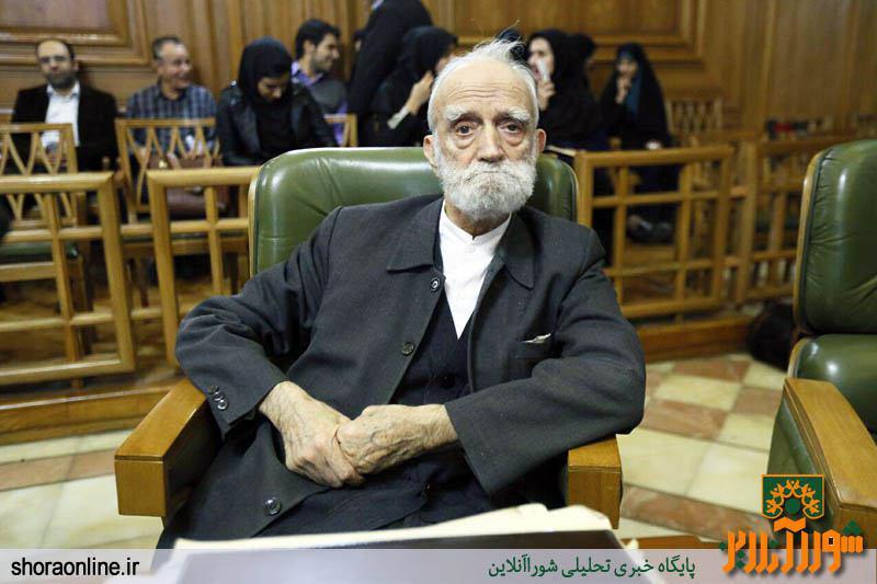 عضوی که یک ریال هم از شورای شهر تهران حقوق نگرفته است
