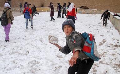 زنگ ورزش مدارس شهر تهران فردا تعطیل است