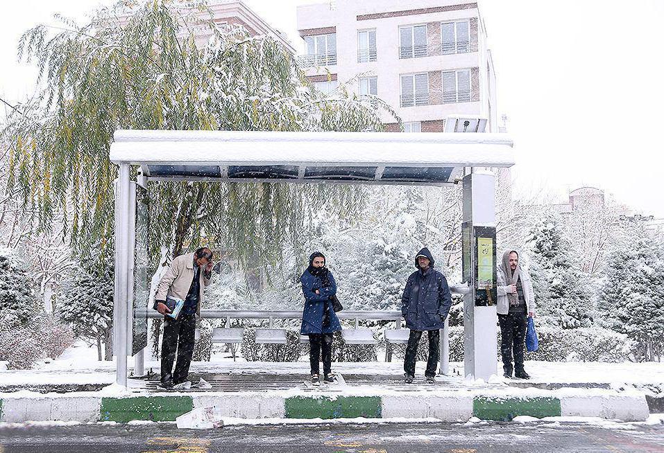 سرمای شدید هوا برای ۳۰ استان کشور