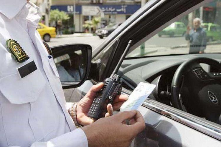 جریمه صدهزارتومانی در صورت استفاده از تلفن همراه حین رانندگی