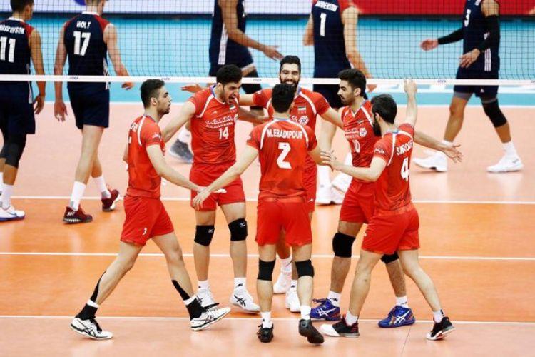 کولاک ایرانی ها در سرزمین آفتاب/ والیبال آمریکا نقره داغ شد