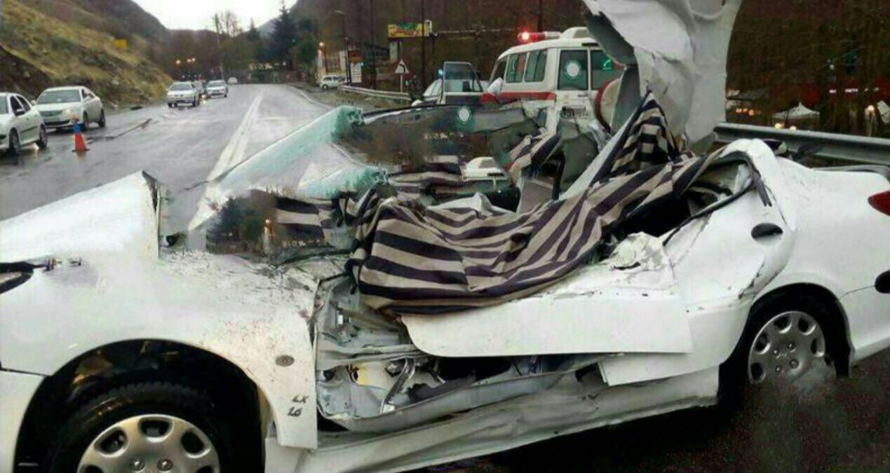 ریزش مرگبار جاده چالوس