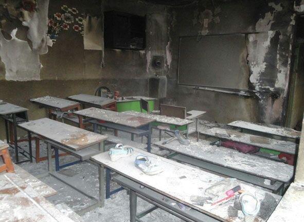معلم فداکاری که جان دانش آموزانش را نجات داد
