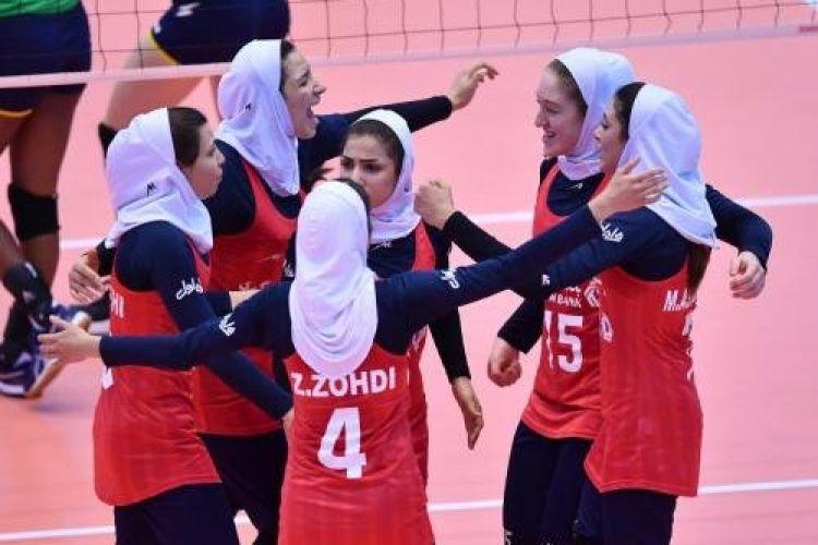 درخشش دختران ایرانی در مسابقات والیبال قهرمانی زیر 19 سال آسیا