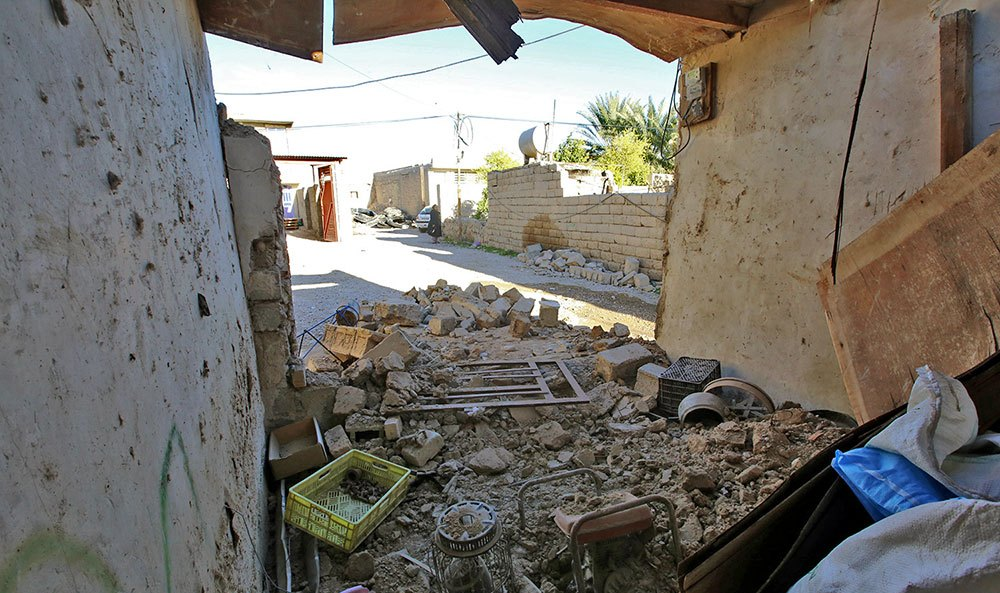 آخرین وضعیت مناطق زلزله زده خنج