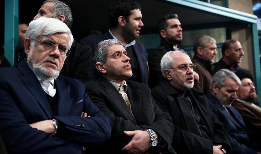 آغاز اولین مراسم سوگواری آیت الله هاشمی رفسنجانی با حضور روحانی
