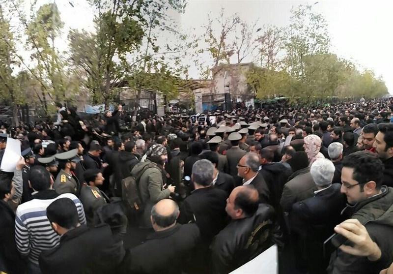 آغاز مراسم تشییع پیکر مرحوم آیت الله هاشمی رفسنجانی + تصاویر