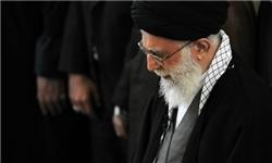اقامه نماز بر پیکر مرحوم آیتالله هاشمی رفسنجانی توسط رهبر معظم انقلاب
