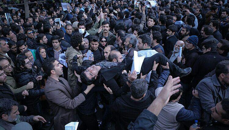 آمار مصدومان مراسم تشییع آیت الله هاشمی رفسنجانی