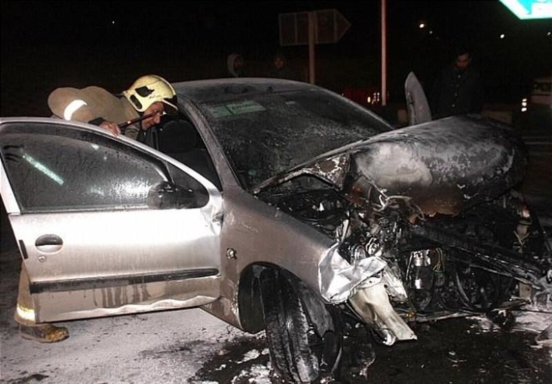 تصادف مرگبار سواری پژو با جک