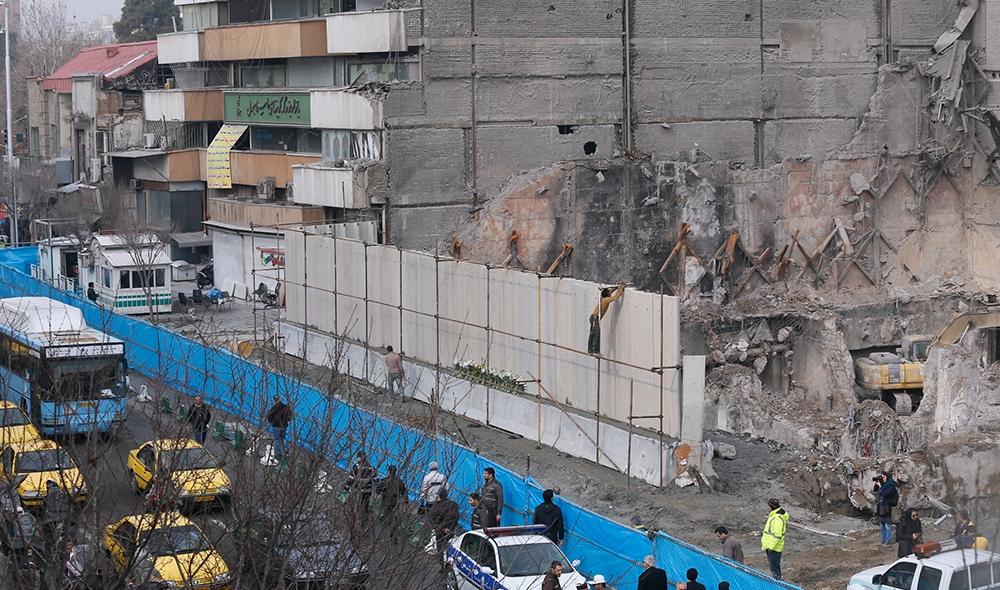 شهرداری مجوزی برای ساخت پلاسکو صادر نکرده است/احداث پلاسکوی جدید نهایت 7 طبقه