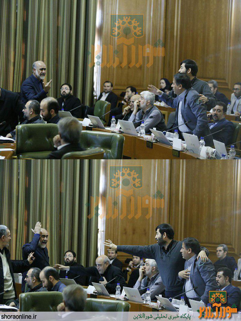 درگیری شدید دو عضو اصلاح طلب در صحن علنی شورا/ اختلاف بر سر بودجه مساجد