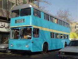 اتوبوسهای دو طبقه گردشگری در تهران