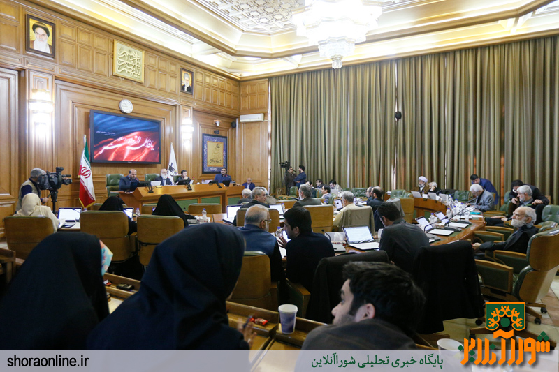 جلسه سیصد و سی و چهارم شواری شهر تهران/ گزارش تصویری