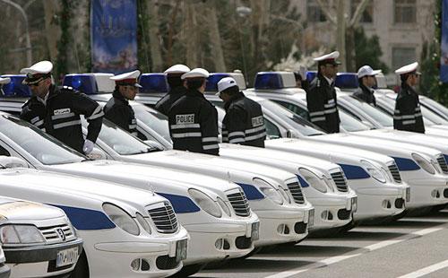 تدابیر ترافیکی پلیس در محورهای منتهی به حرم مطهر