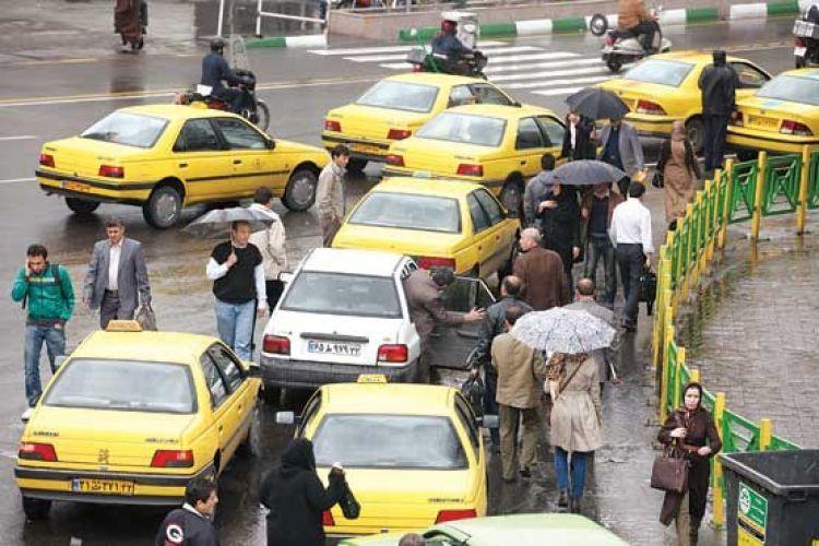 آخرین وضعیت افزایش کرایه تاکسی در سال 97/ احتمالا کرایه گران نمی شود