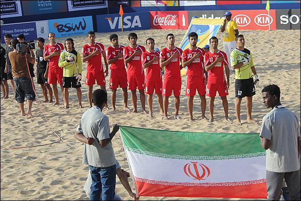 فوتبال ساحلی قهرمانی آسیا/چینی ها گلباران شدند