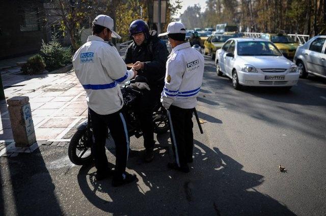 شروط اعمال طرح ترافیک برای موتورسیکلت ها