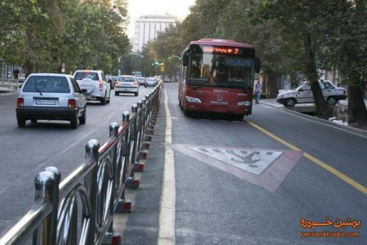 کاهش 10 درصدی ترافیک در محدوده طرح ترافیک/ اتوبوسها سه دقیقه زودتر رسیدند