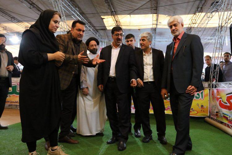 سازمان ورزش شهرداری تهران غرفه برتر نمایشگاه کتاب