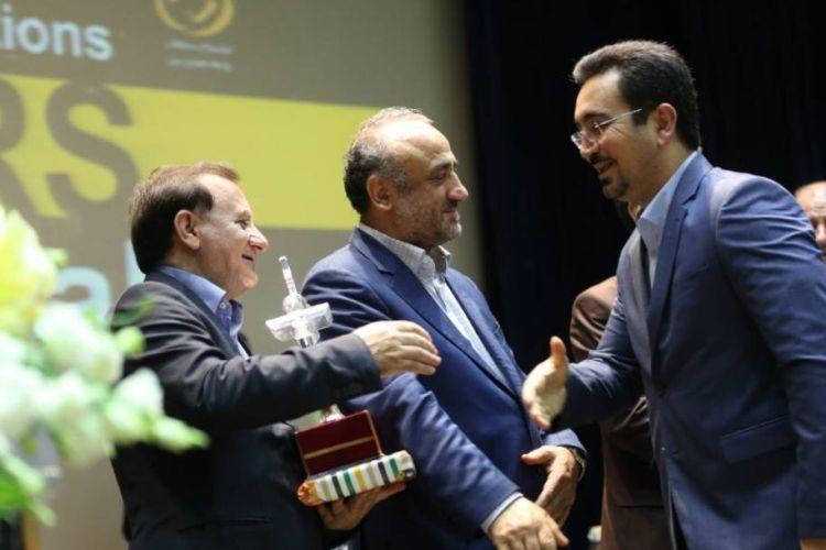 موفقیت سازمان نوسازی شهرداری در جشنواره ستارگان روابط عمومی ایران