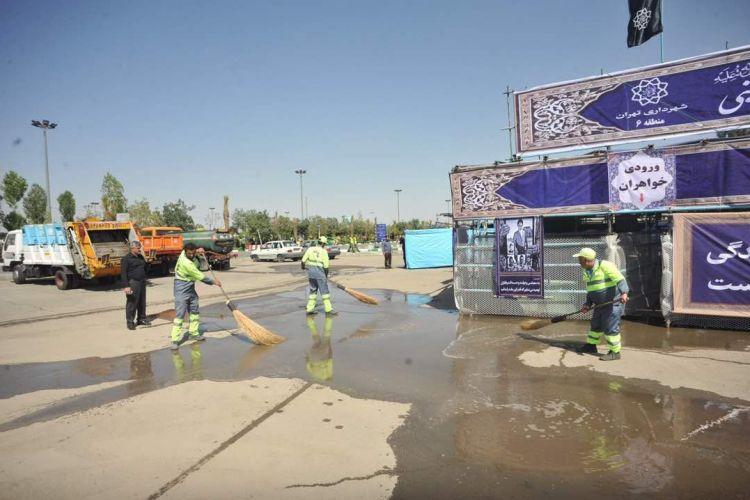افشانی:مردم و مسئولان از خدمات دهی شهرداری در مراسم سالگرد ارتحال امام خمینی(ره) رضایت داشتند