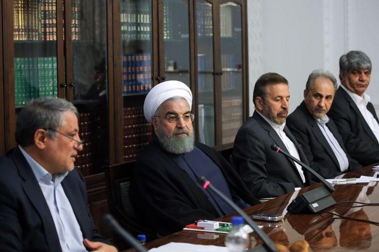 اظهارنظر روحانی در خصوص انتخاب نجفی به عنوان شهردار تهران