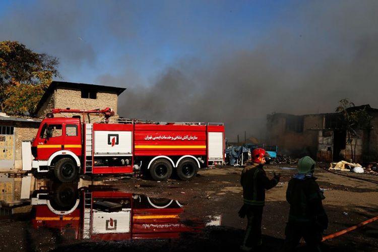 جزئیات آتش سوزی گسترده در خیابان فداییان اسلام