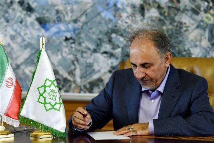 قدردانی شهردار تهران از آتشنشانان