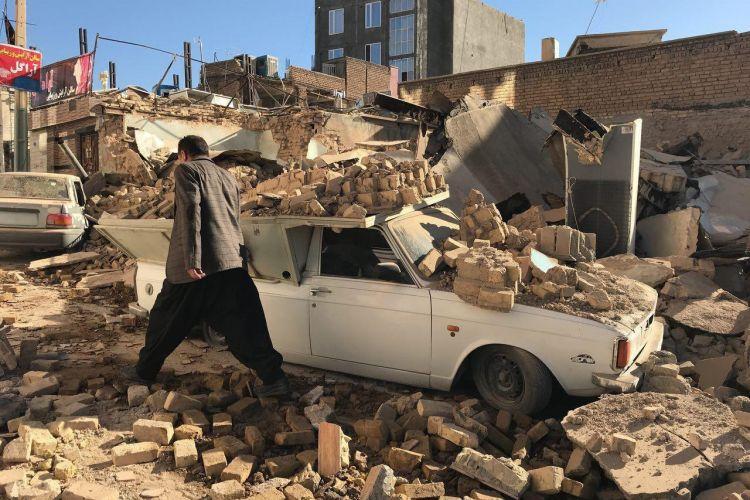 بیکاری 1400 کارگر بعد از زلزله کرمانشاه