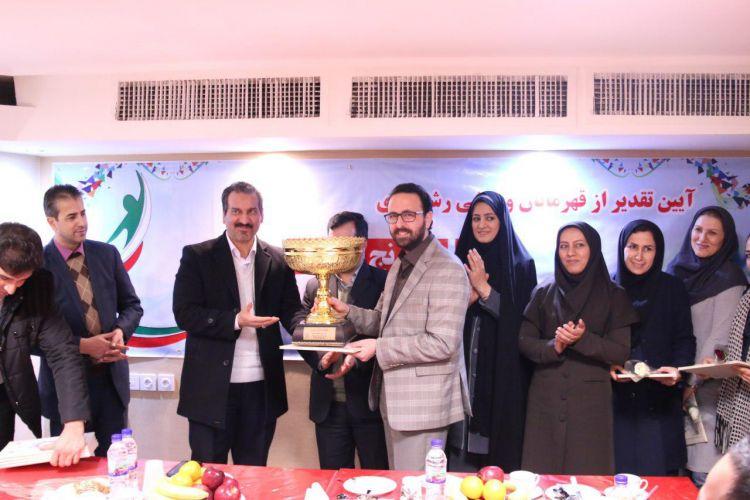 تجلیل از برترین های مسابقات ورزشی جام فجر کارکنان شهرداری