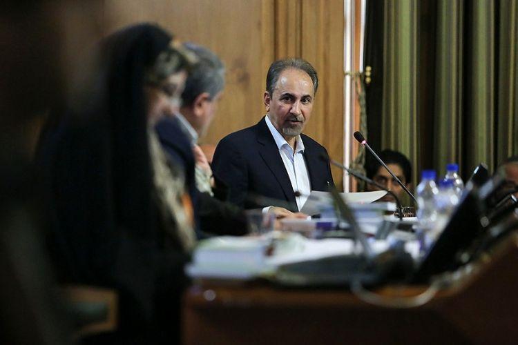 بررسی استعفای محمدعلی نجفی در جلسه 19 فروردین شورای شهر تهران