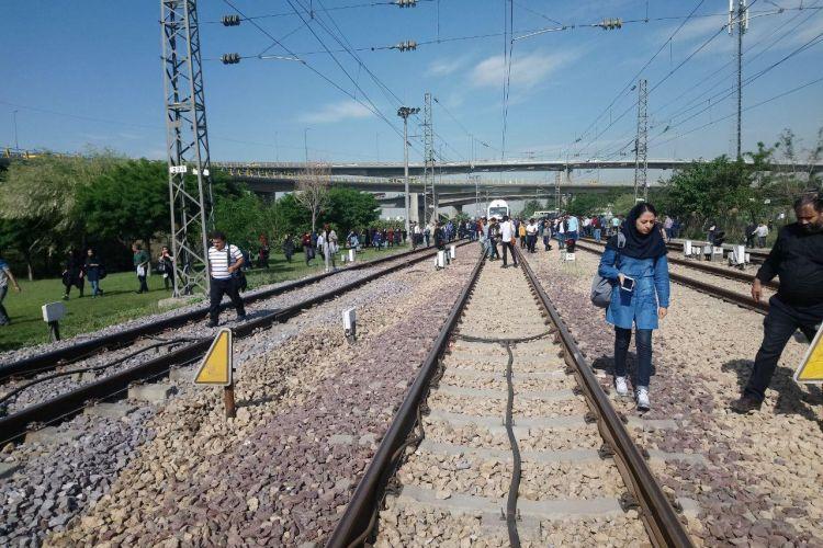 اطلاعیه مترو در خصوص حواشی رخ داده در مترو تهران-کرج