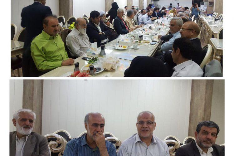 ضیافت افطار شهردار و اعضای سابق شورای شهر تهران برگزار شد