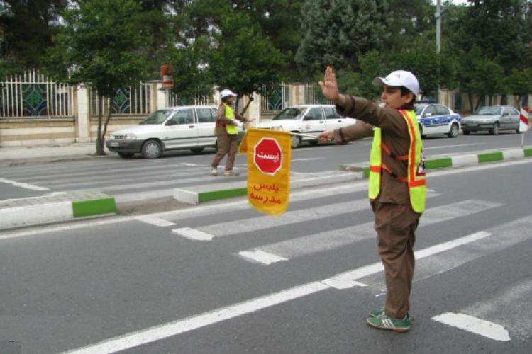جریمه 60 هزار تومانی پلیس مدرسه در انتظار رانندگان متخلف